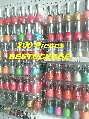 Lot Revendeur Maquillage 200 Vernis A Ongles