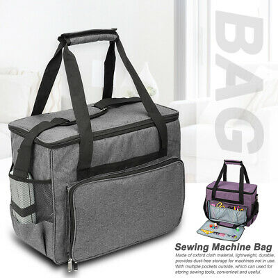 Storage With Handle Straps Large Capacity Travel Oxford Cloth Sewing Machine Bag