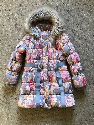 Beautiful Girls Monsoon Padded / Quilted Coat Age 9-10