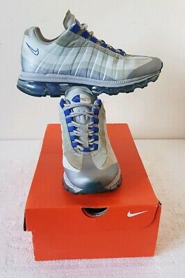 Nike Air Max 95+ Bb Wolf Grey Trainers Uk Size 7 Usa 8 Euro 41 In Good Condition