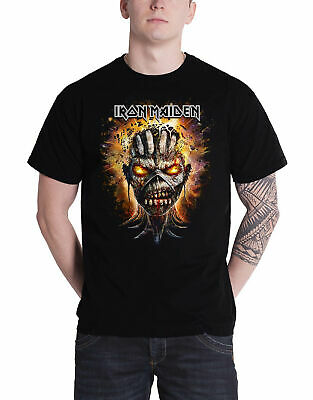 Official Iron Maiden T Shirt Book of Souls Tour Nordic Event 2016 Mens New Black