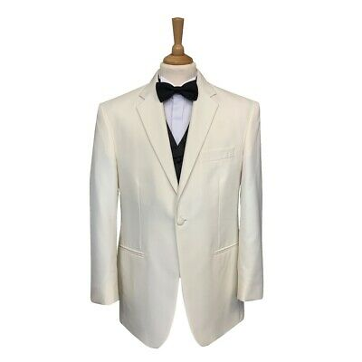 Mens Ivory Evening / Tuxedo / Cruise / Ball / Party Dinner Jacket