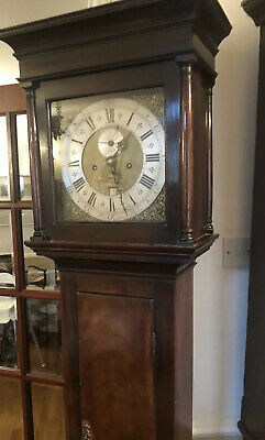 antique grandfather clock By David Compigne Of Winton C1740 Eight Day