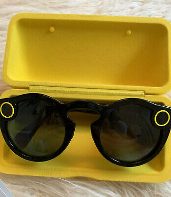 Snapchat Spectacles Black Snap Camera Glasses 1st edition, Cord Not Included