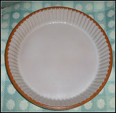 """French (Signed) Emile Henry  Cooking Dish  Fluted - 11"""" - 2.5"""" Deep - Superb"""