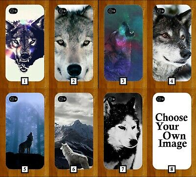 Wolves Phone Case Cover Wolf Animals Design Face Animal Kids Husky Pet Wild 516