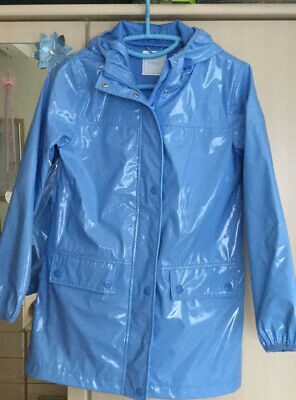 BNWT Girls Blue  Next Raincoat Age 12 Yrs