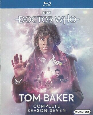 Dr. Who Tom Baker Complete Season 7 (Bluray)(8 Disc Set) (Used)