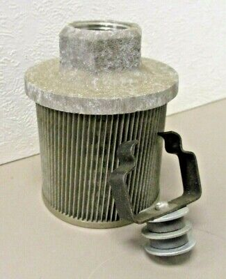 """Marion SR25-SF16-C  Hydraulic Pickup Filter Strainer with Magnet  1"""" NPT Threads"""