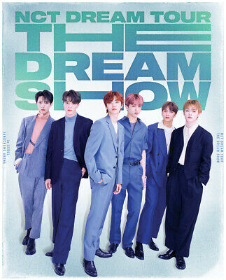 Nct Dream Tour The Dream Show Official Goods Ticket Holder + Photo Card Set New