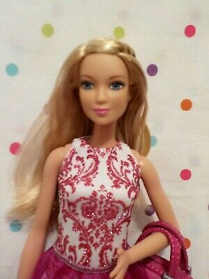 Gorgeous Fashionista Barbie Doll,Blonde,Tall,Dress,,Shoes,BagEXCD Mattel