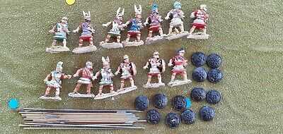 13 x 28mm macedonian greek pikes wargames foundry figures ancients