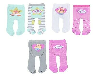 Baby Born Dolls Tights Set of 2 Pairs Zapf Creation Dolls Clothes New