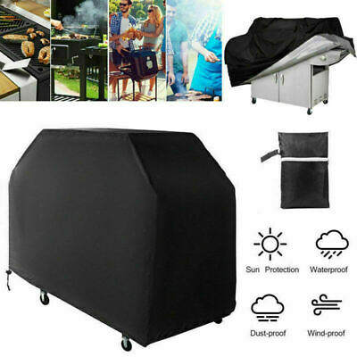 Extra Large BBQ Cover Outdoor Waterproof Garden Barbecue Grill Gas Protector 145