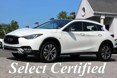 2019 INFINITI QX30 QX30 ESSENTIAL AWD 2019 QX30 Essential AWD Original MSRP $44,420 Majestic White ONLY 3,901 MILES