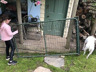 Heritage Federation Woven Wire Gate Old Antique Garden Fence