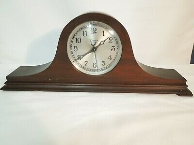 Vintage Lincoln Electric Mantel Clock with Mantel Style Wood Case 1930's USA