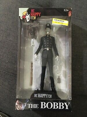 """We Happy Few Colour Tops The Bobby 7/"""" Figure McFarlane IN STOCK"""