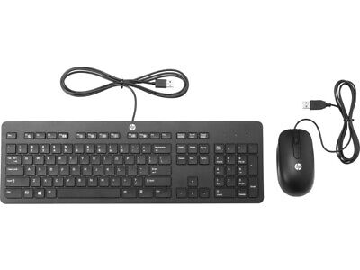 HP USB Slimline Keyboard and Mouse Bundle Combo Professional Business N3R87AA