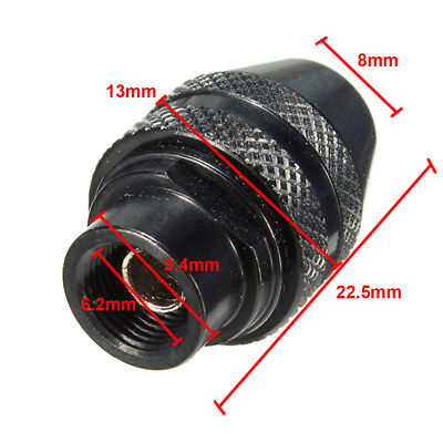 Multi Chuck Quick Change Adapter Drill Bit For Dremel Rotary Accessories Kit 8mm