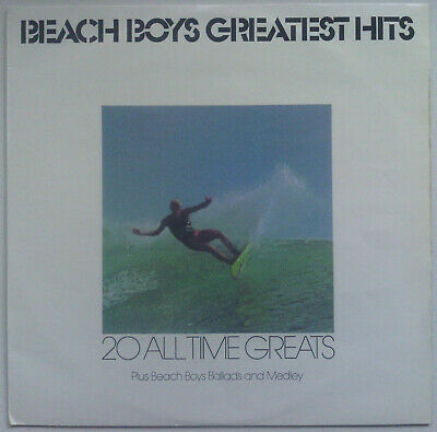 BEACH BOYS Greatest Hits/20 All Time Greats 1981 OZ Capitol EX/VG++