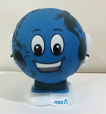 Anz World Globe Money Box, Anz World Globe Money Box, Anz World Globe Money Box