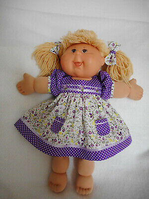"Dress+Panties+Bows Fits 18"" Cabbage Patch Kid  Quality Doll Clothes"