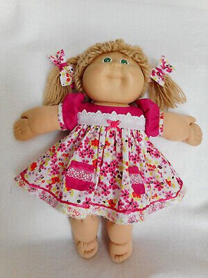 "Dress+Panties+Bows Fits 16"" Cabbage Patch Kid  Quality Doll Clothes"