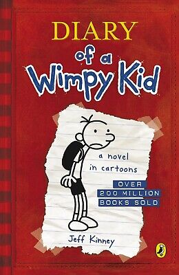 Diary Of A Wimpy Kid (Book 1) by Jeff Kinney New Paperback Book!