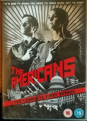 The Americans Complete First Season (4 Disc) Dvd Boxset