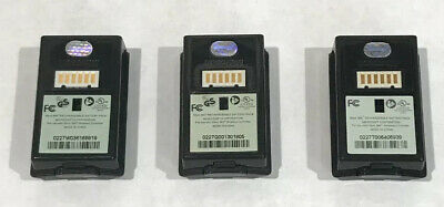 3x Official Microsoft Xbox 360 Rechargeable Battery Pack Controller Black LOT