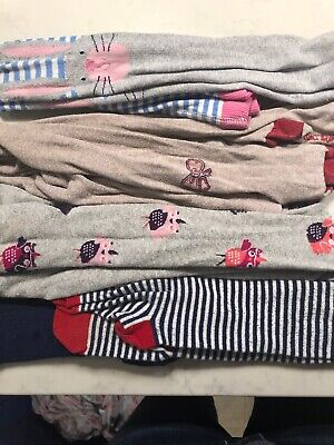 Mini Boden, Joules, John Lewis Bundle X 4 Girls Tights Age 7-8 VGC