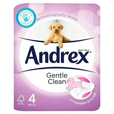 Andrex Gentle Clean 4 Rolls 6 Pack