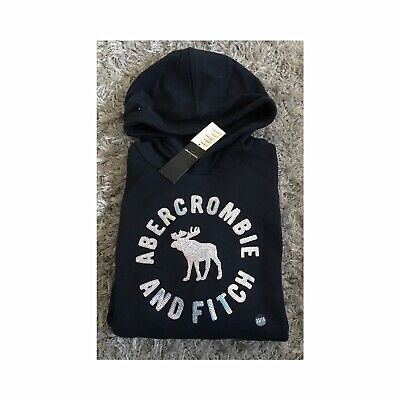 Girls Womens Abercrombie & Fitch Hoodie - Age 15/16 - Size 8-10 - Brand New
