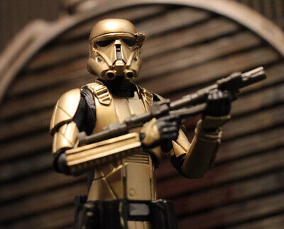 Custom Star Wars Black Series Gold Death Trooper The Mandalorian 1/12 6 Inch
