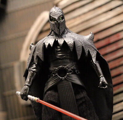Custom Star Wars Black Series Shadow Sith The Mandalorian 1/12 6 Inch