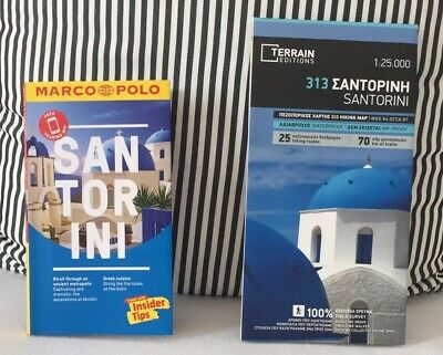 Santorini Guide Book and Maps