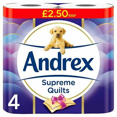 Andrex Supreme Quilts 4 roll 6 Pack