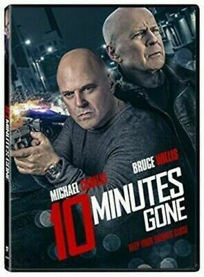 10 Minutes Gone (DVD 2019)  Action/Thriller/Mystery/Crime! Fast Shipping!!!