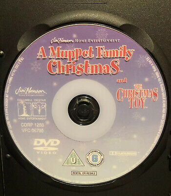 A Muppet Family Christmas DVD Uncut Unedited full movie + The Christmas Toy rare