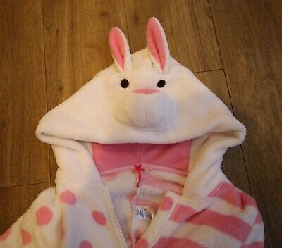 Girl's Next all-in-one soft sleepsuit rabbit age 10 years