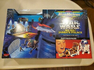 Micro Machines Star Wars  R2-D2 Jabba's Palace Transforming Action Set 1994 Offr