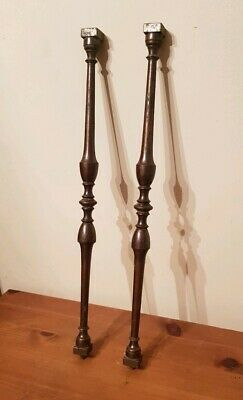 Antique Grandfather Clock Parts Finial Supports