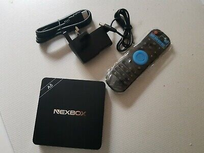 NEXBOX A5 Android 6.0 TV BOX - Perfect Christmas Gift - BNIB