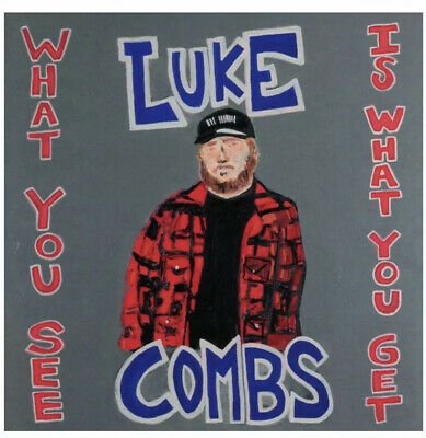 NEW Sealed Package Luke Combs What You See Is What You Get Brand New Country CD