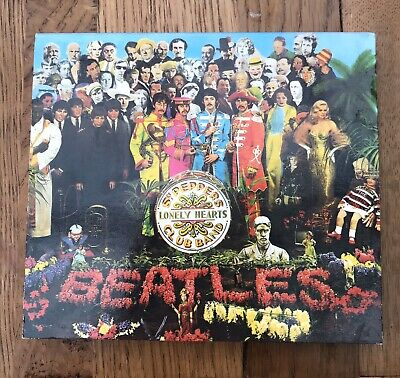 The Beatles Sgt. Pepper's Lonely Hearts Club Band CD 1987 Cardboard Slipcase