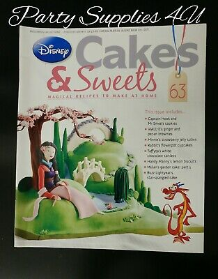 Disney Cakes and Sweets Magazine Issue 63. Mulan/recipes/cupcakes/cookies/jelly