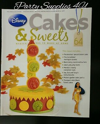 Disney Cakes and Sweets Magazine Issue 64. Pocahontas/recipes/cupcakes/cookies
