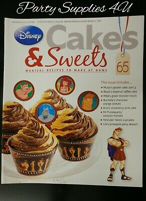 Disney Cakes and Sweets Magazine Issue 65. Hercules/recipes/cupcake/cookie/Mulan