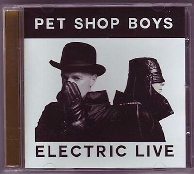 PET SHOP BOYS Electric LIVE worldwide tour 2013 first show limited edition CD